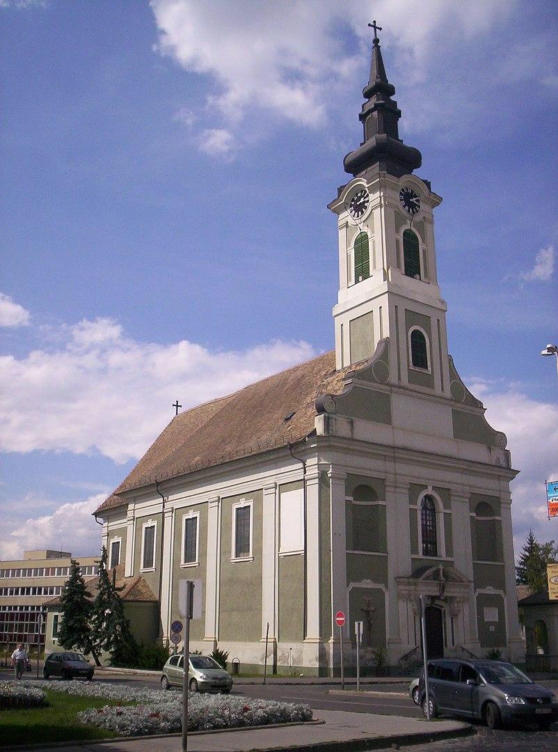 Bajai Szent István templom - magyartemplomok